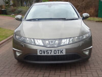 HONDA CIVIC 2.2 EX I-CTDI 5d 139 BHP SERVICE RECORD ++ 2 PREVIOUS KEEPER ++ NAVIGATION SYSTEM ++
