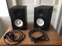 Yamaha HS50M powered studio monitors (pair)