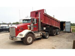 2007 Kenworth T800 Tri Axle Dump