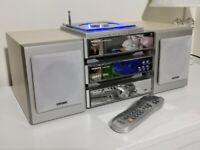 Hitachi AX-M68D DAB CD Radio Compact Hi-fi System