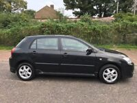 2006 Toyota Corolla 1.6 VVT-i Colour Collection 5dr Automatic @07445775115@