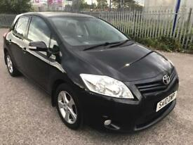 2010 Toyota Auris 1.33 TR 5 Door Stop/Start FSH HPI Clear