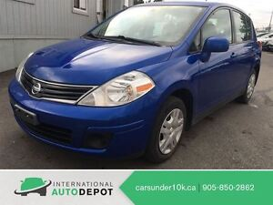 2010 Nissan Versa S / GREAT VALUE / NO ACCIDENTS*