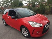 Citroen ds3 diesel car 1.6 hdi style 2010 model air conditioning cruise control cd led lights