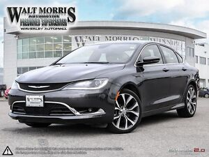 2016 Chrysler 200 C - LEATHER, BLUETOOTH, PWR SUNROOF