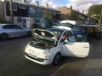Fiat 500 Lounge 1.2L South East Ldn @07402966150