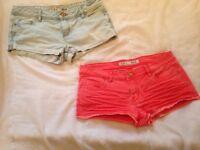 Womans shorts size uk10