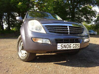 06 SSANGYONG REXTON 270 S 2.7 DIESEL 4X4,7 SEATER,1 OWNER FROM NEW,2 KEYS,PART HISTORY,STUNNING 4X4