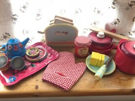 Collection of Quality Kids' Picnic and Kitchen Toys