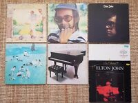 Elton John Vinyls x7 Goodbye yellow brick road etc