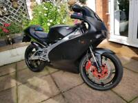 Aprilia RS125, 18k Miles, 11 Months MOT, New Re-Build RS 125 Motorbike 125cc