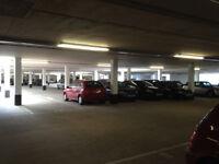 Securely gated, CCTV monitored underground parking space in Bath