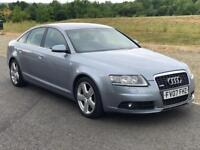 AUTOMATIC AUDI 6 Saloon 2.0 TDI S Line CVT, 1 Yr MOT, 3 M Warranty,S History,2 P Owner,Half Leather