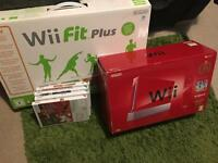 Red Nintendo wii for sale