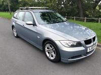 2008 08 BMW 320d TOURING SE DIESEL ESTATE 117k IMMACULATE MUST SEE FSH 1 OWNER BARGAIN £2595 330