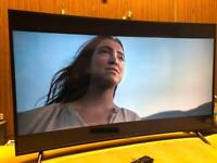 """SAMSUNG 55"""" curved 4k ultraHD Excellent Cond Warranty Free Delivery 🚚"""