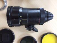Meteor 5-1 17-69mm f/1.9 vintage 16mm lens