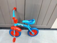 "Thomas the tank engine 2 in 1 10"" bike"