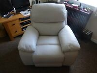 Armchair recliner,leather