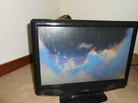 Portable TV with Built in DVD player