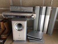 Panasonic SC-HT1500 Recordable DVD Home Theatre System - 6 speakers