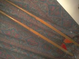 Pair of Childrens adjustable Stilts 1950s/1960s