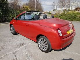 CONVERTIBLE NISSAN MICRA 1.6 SPORT C+C ONLY 21797 MILES WITH HISTORY