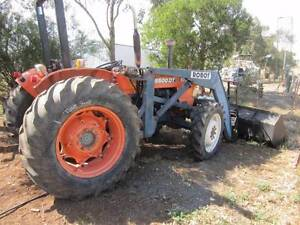 Kubota M5500DT with front loader Balliang East Moorabool Area Preview