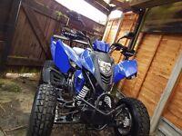 Cpi xs 250 road legal quad bike (quick sale)