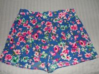 Lovely floral New look Shorts