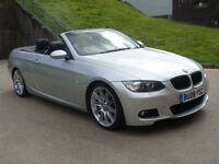BMW 3 SERIES 3.0 335I M SPORT 2d 302 BHP SERVICE RECORD + CONVERTIBLE GREAT EXAMPLE OF AUTOMATIC*