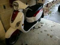 Sym fiddle 111 50cc sell or swap