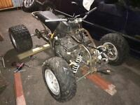 Road legal 600cc Suzuki bandit powered quad PROJECT