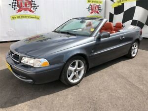 2004 Volvo C70 Automatic, Leather, Convertible, 89,000km