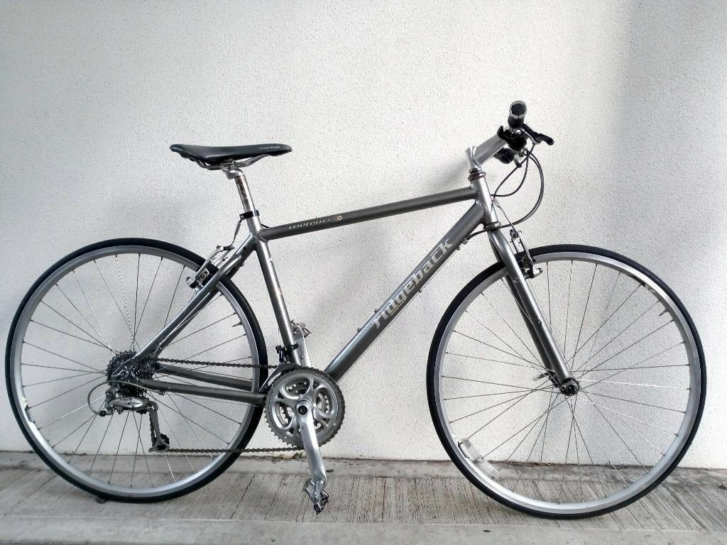 """(2515) 700c 19"""" Lightweight Aluminium RIDGEBACK HYBRID FLAT BAR ROAD BIKE BICYCLE Height 173 188 cmin Fulham, LondonGumtree - Condition Used, in very good condition. Minor frame scratches. See photographs to satisfy yourself to condition of the bike. The bike is ready to hop on and ride. It doesnt require any repairs. It has been washed, lubricated and serviced prior to..."""
