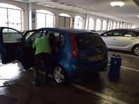 car wash for rent/manage at busy shopping centre in darlington
