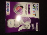 Avent BRAND NEW breast pump new and unused