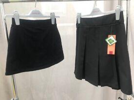 Girls School Clothes Skirt Bundle Age 10-11