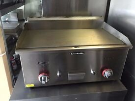 CATERING COMMERCIAL 2 BURNER GAS GRILL CAFE RESTAURANT BBQ KEBAB CHICKEN TAKE AWAY BAR SHOP