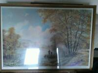 Signed Print Of Peaceful Moments