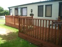 Static caravan for sale Crantock, Newquay. Cornwall, Willerby Westmorland 2005 model 8 births