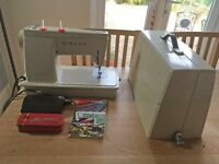 Vintage SINGER Hushmatic 507 sewing machine (serviced)