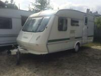 5 BERTH ELDDIS WITH AWNING SPEACIALLY MADE WIDER BRILLIANT CONDISHION PLZ VIEW