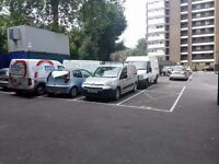 Convenient parking, just steps from East Putney tube station. (cheaper than on street parking.)