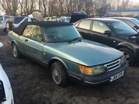 Saab 900i Convertible For Breaking