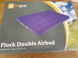 Hi Gear Double Flock Airbed Unpackaged