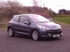 PEUGEOT 207 1.6 GT THP 150 12 MONTHS M.O.T 6 MONTHS WARRANTY (FINANCE AVAILABLE)
