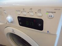 INDESIT 8 KG WASHING MACHINE ,,,WARRANTY,,,, FREE DELIVERY