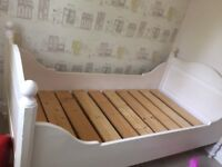 Single Bed Ideal for a Child. Good painting project.