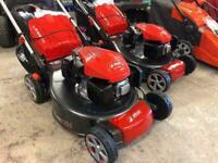"Efco LR 53 TK Comfort petrol self-propelled four wheeled lawn mower (20"" cut)"